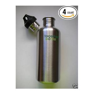 Stainless Steel Water Bottle Canteens Family 4 Pack 40oz - image