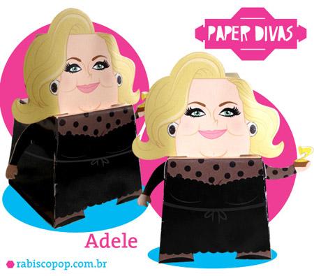 Adele Papercraft