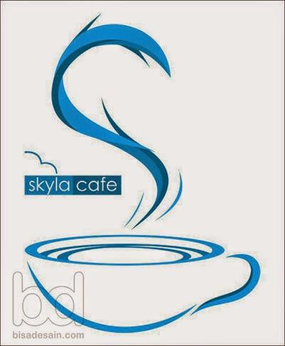 Desain Logo Skyla Cafe
