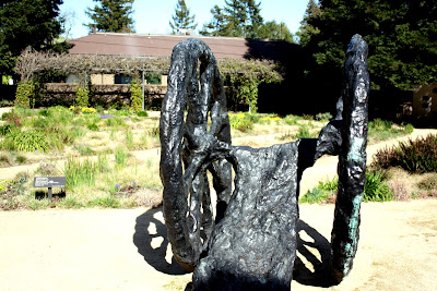 Sculpture in the Garden at Hess Collection Winery