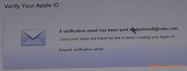 애플 앱스토어 verify your apple id로 이메일 인증하는 방법