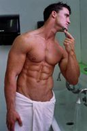 Hot Muscle Hunks with Sexy Bath Towels - Photo Set 14