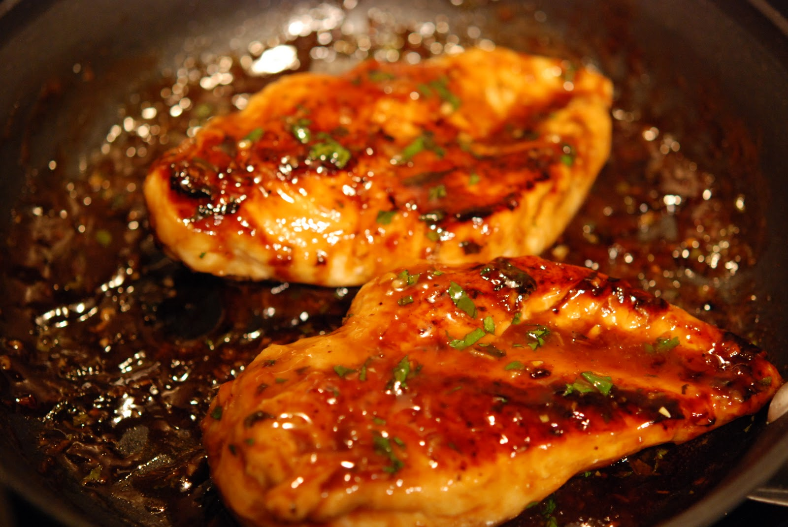 marys bites: Hoisin Glazed Chicken