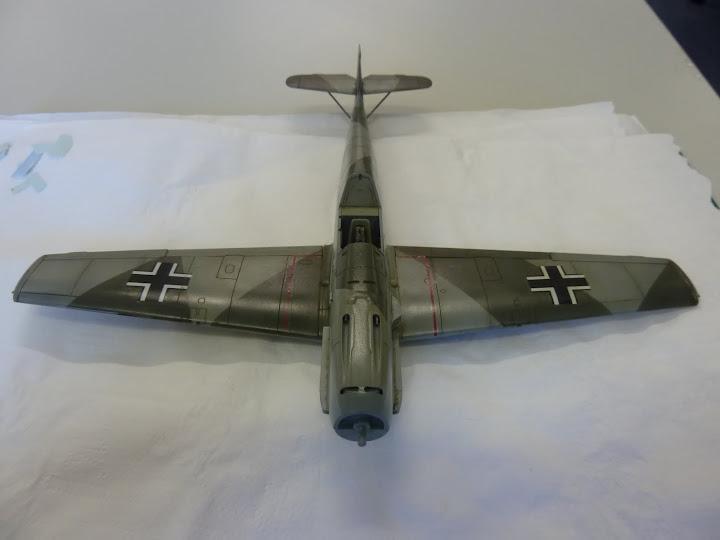 Bf-109 E-3 Tamiya 1/48 - Reforma pintura P1020519
