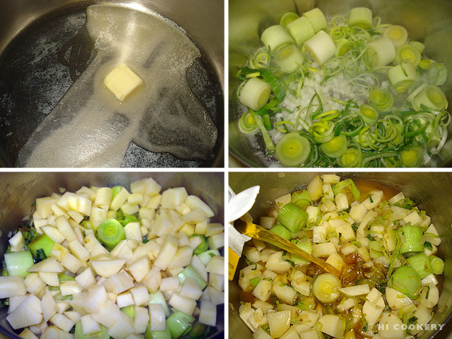 Leek and Tattie Soup