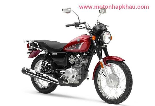 Yamaha YB125SP Đỏ