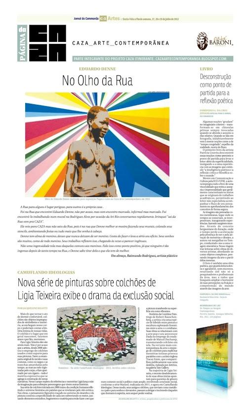 Página da Caza - 27 de Julho de 2012