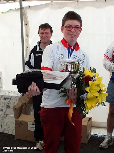 Florian champion de Bourgogne FSGT Cadet