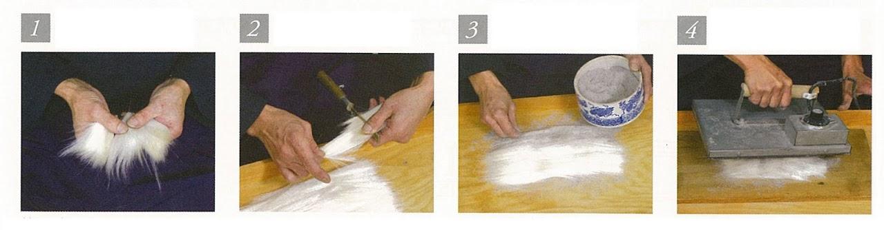 japán ecset készítése 1-4
