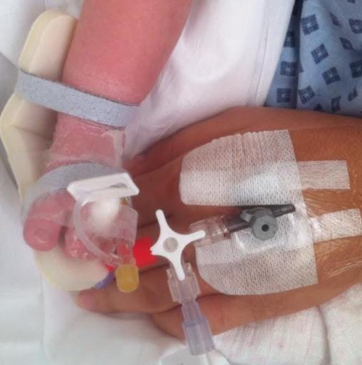 Still in hospital…