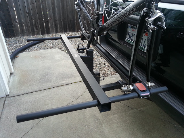 DIY Hitch Bike Rack- PIC HEAVY - Toyota