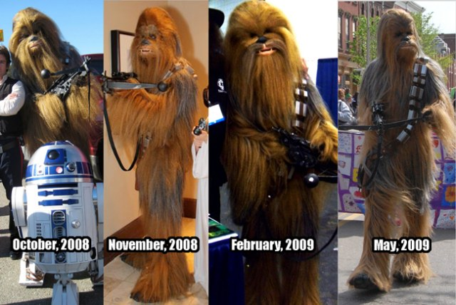 He posted about the costume on The Replica Props Forum. Hereu0027s where things got interesting. Sometime in mid-summer 2009 he called me at work and said ... & Chewbacca - Syagriau0027s Cosplay