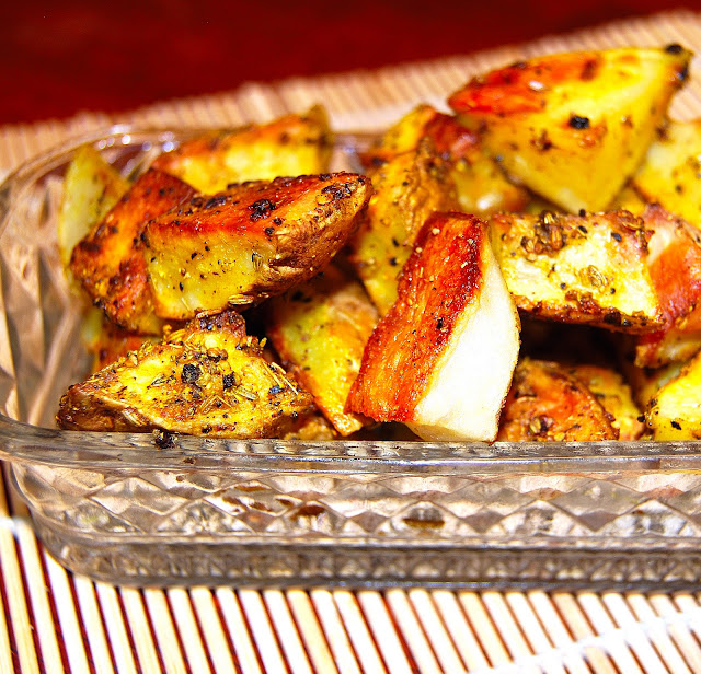 fennel crusted potatoes