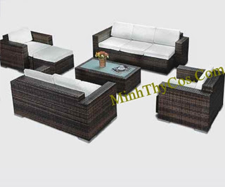 Rattan Sofa Set-MT136