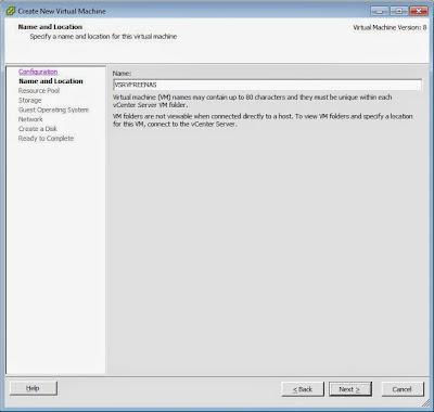 Crear máquina virtual VMware ESXi para FreeNAS