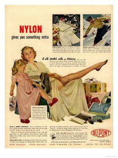 anuncio nylon dupont medias