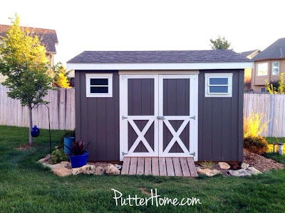Colors to paint your shed