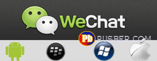 Download WeChat Android Blackberry iPhone Windows Phone