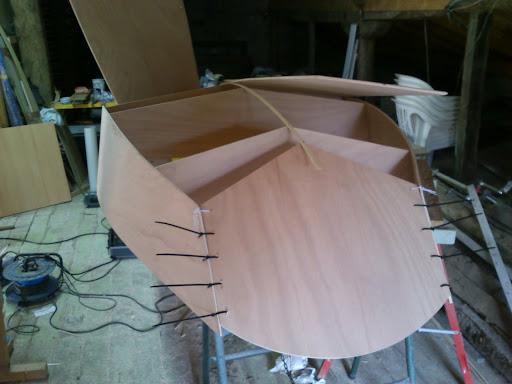 Construcción de mi primer bote 2012-08-13