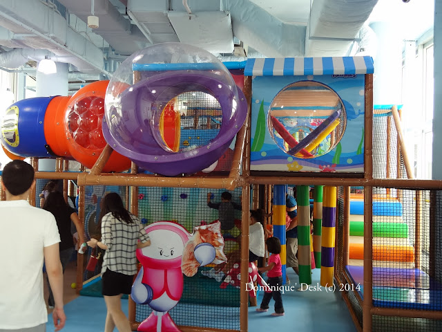 The main play area
