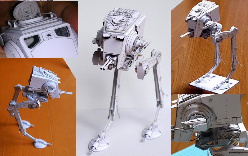 star wars paper models Home design awesome star wars model: abandoned at-at walker watching star wars at the theater is much, much more than pure entertainment.