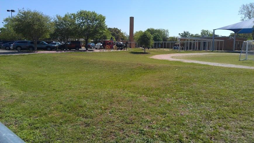 Horses in the schoolyard, part 2