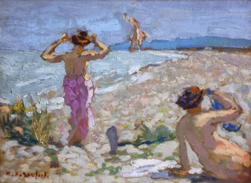 Ker Xavier Roussel - Les baigneuses