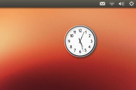 Cairo Clock su Ubuntu