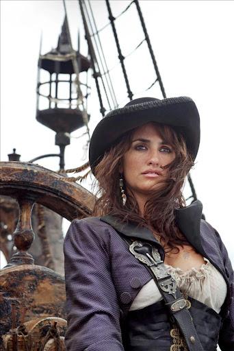 """Penélope Cruz en """"Piratas del Caribe 4"""""""