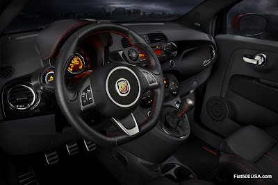 Fiat 500 Abarth Dashboard