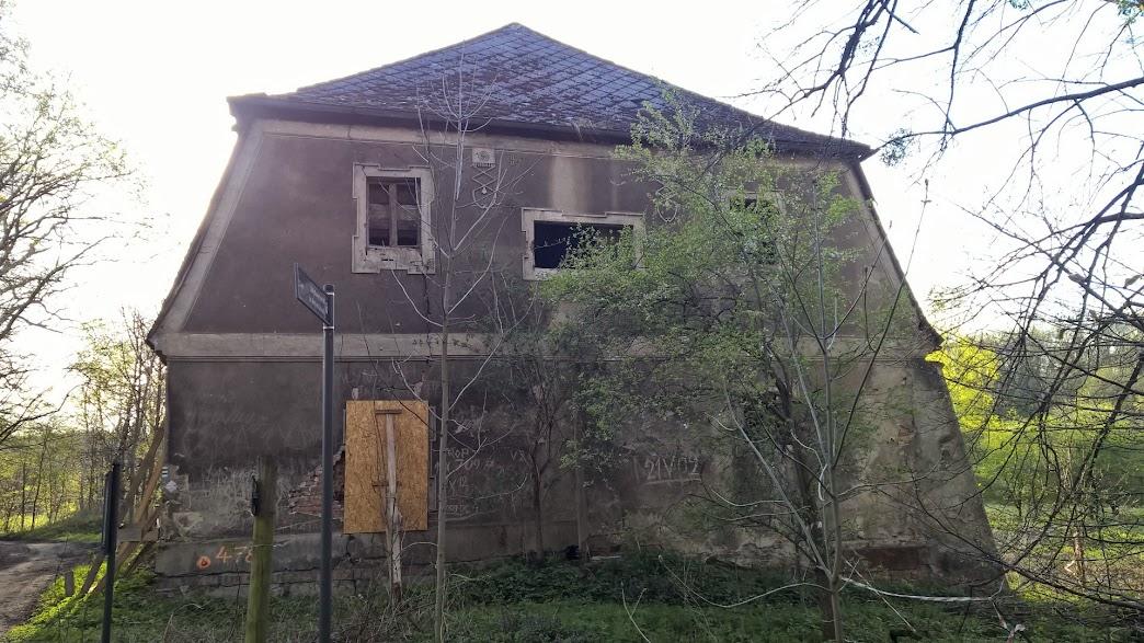 Rezerwat Łężczok - Dworek myśliwski
