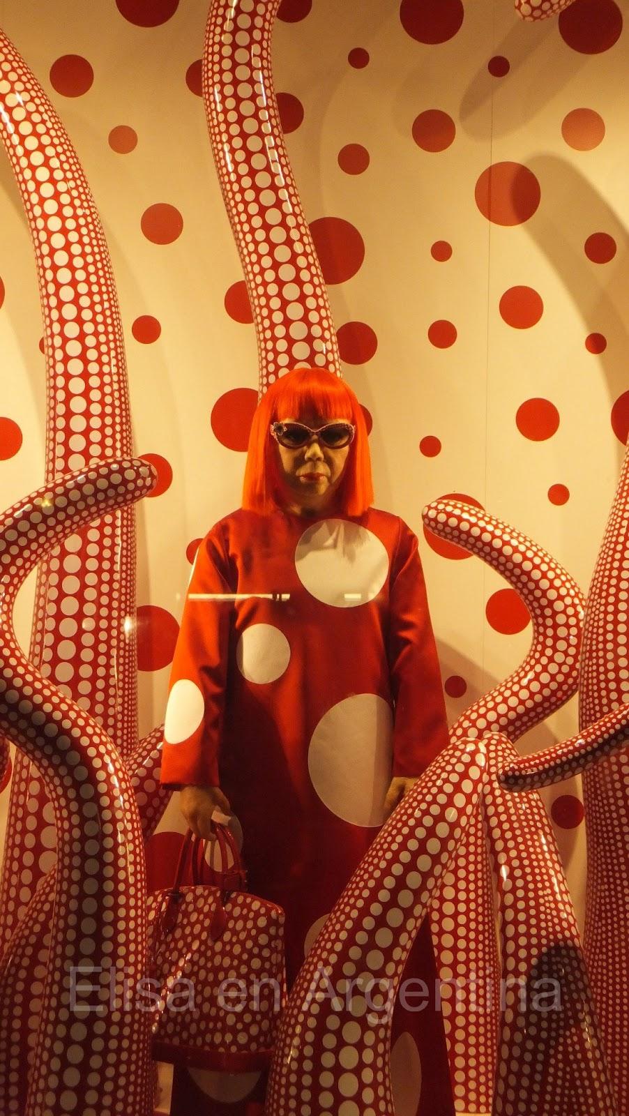 Dots Infinity de Yayoi Kusama, Vuitton Quinta Avenida