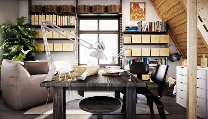 Модерни идеи за домашен офис