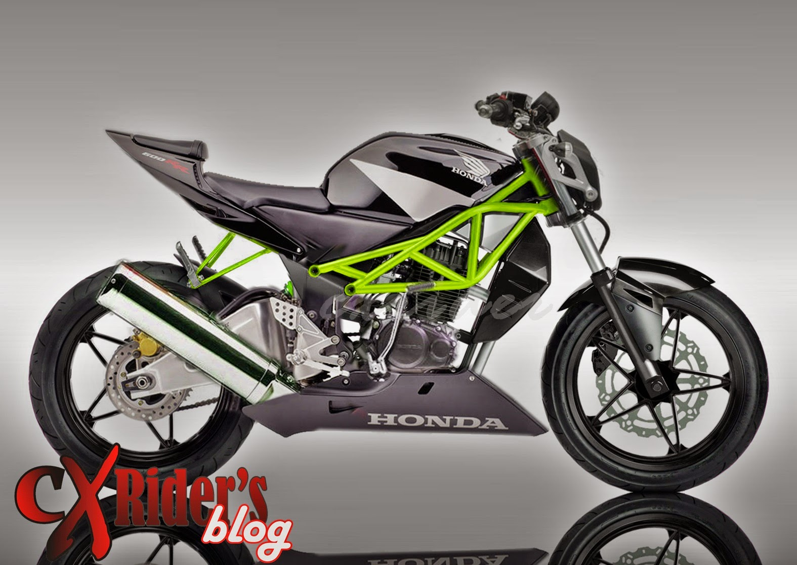 Biaya Modifikasi Motor Tiger Street Fighter Terlengkap Motor Cross