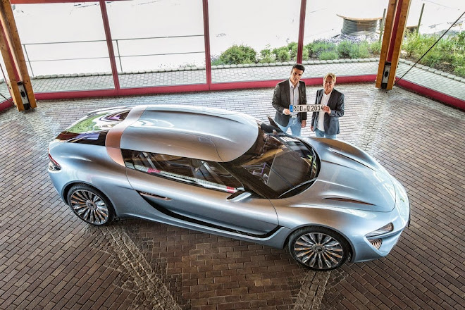 QUANT e-Sportlimousine approved for use on public roads in Germany and Europe