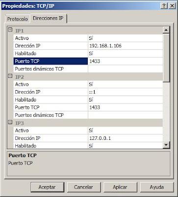 Configurar SQL Server Express 2008 para conexiones remotas externas