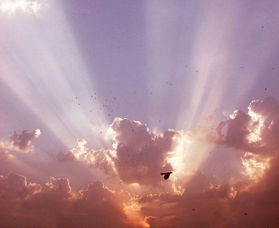 Céu com nuvens de Ayesha Khan