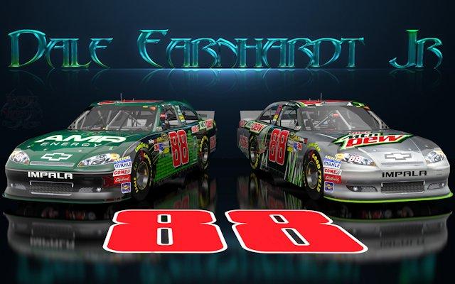 Dale Earnhardt Jr Wicked Text Amp Diet Dew Wallpaper