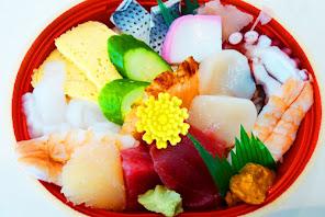 魚芳のちらし寿司