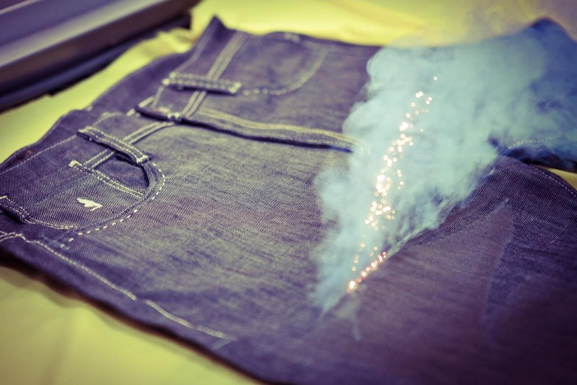 *MCS環保概念的紡織工藝:雷射破壞製作過程完整公開! 6