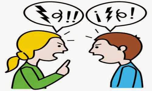 Evitar los insultos al momento de discutir en pareja
