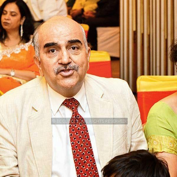 Swaraj Puri during Disha-Anuj Puri's wedding, held in Bhopal