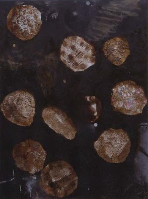 Titre à faire, 1996-97 200 x 150 cm, t.m. avec collage sur toile