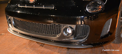 Fiat 500 Abarth Venom lower grill detail
