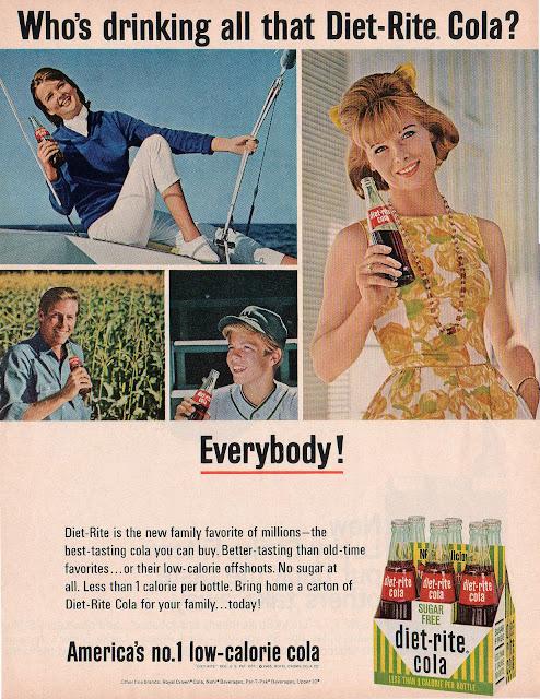 Diet-Rite Cola 1965