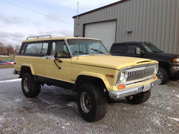 1978 Cherokee Chief Restore/Build  - Full Size Jeep Network