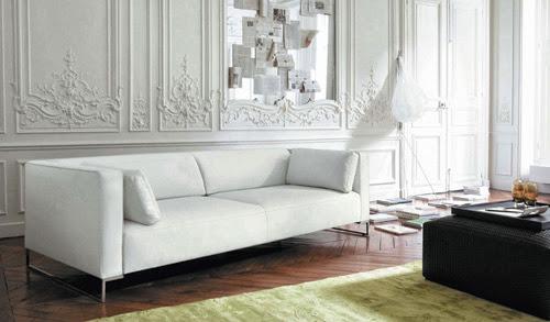 sofa màu trắng