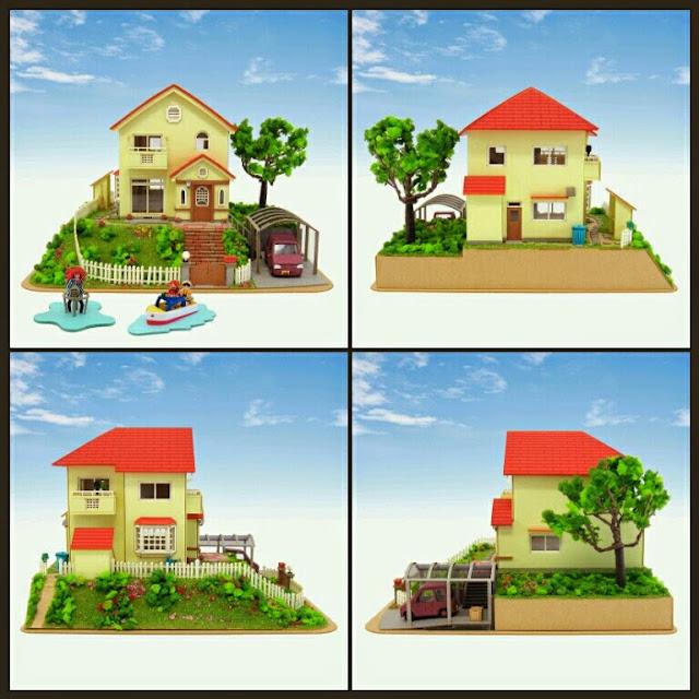 Ponyo and sosuke's House