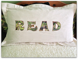 Photo of king pillow sham with a nicely sized 2 inch flange and applique