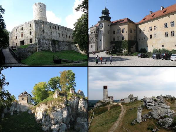 zamki Jury Krakowsko-Częstochowskiej